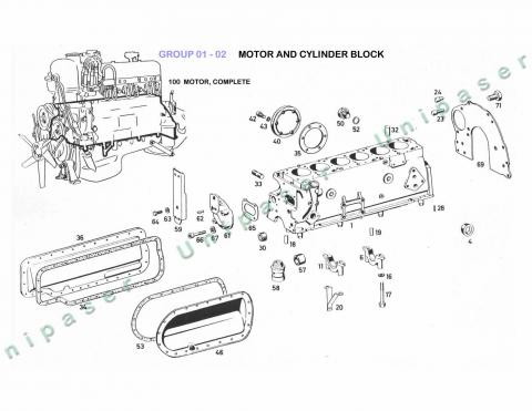 01-02 MOTOR AND CYLINDER BLOCK