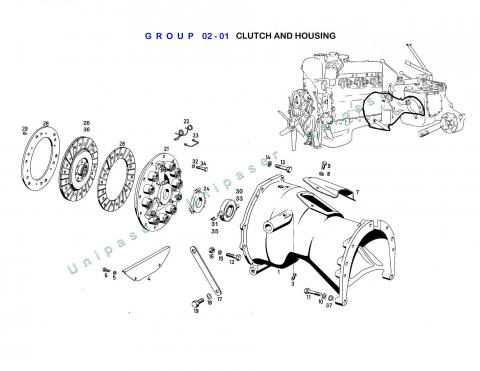 02-01 CLUTCH AND HOUSING