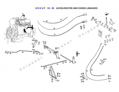 03-06 ACCELERATOR AND CHOKE LINKAGES