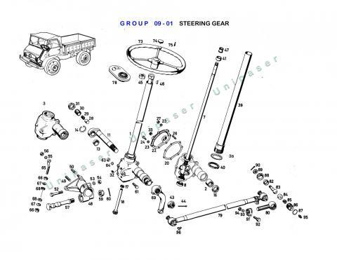 09-01 STEERING GEAR