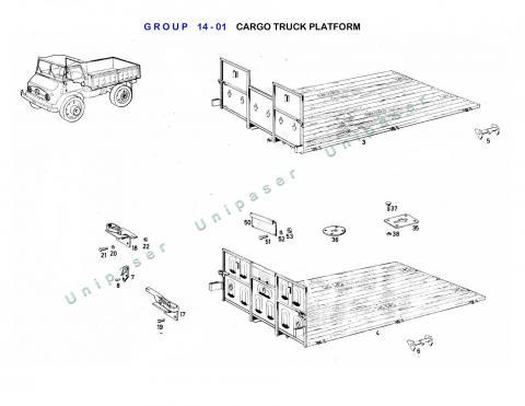 14-01 CARGO BED PLATFORM
